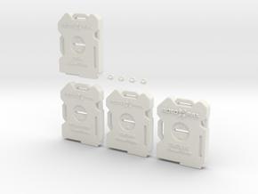 Rotopax Survival Pack in White Natural Versatile Plastic