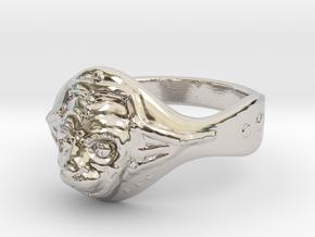 Hanuman ring(Japan 10,USA 5.5,Britain K)  in Platinum