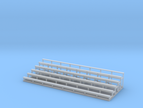 Bleachers 1-87 HO Scale in Smooth Fine Detail Plastic