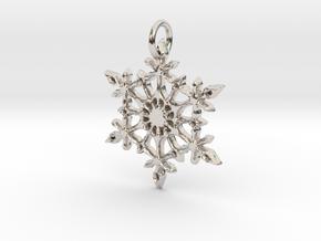 Snowflake in Platinum