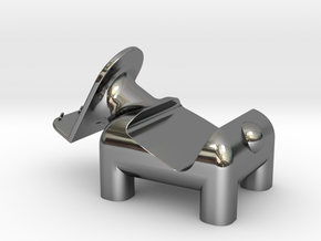動物 手機架  Animal mobile phone holder in Fine Detail Polished Silver