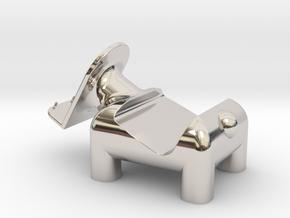 動物 手機架  Animal mobile phone holder in Platinum