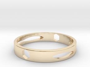 戒指  Ring in 14K Yellow Gold
