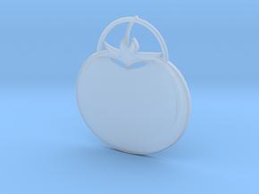 Tomato Pendant in Smooth Fine Detail Plastic