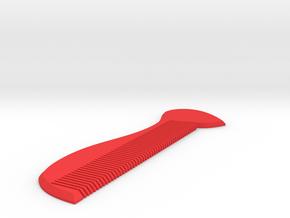 豆芽梳子 Bean Sprouts Comb in Red Processed Versatile Plastic