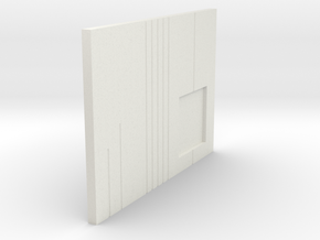 LPA NN-14 - Left side plate in White Natural Versatile Plastic