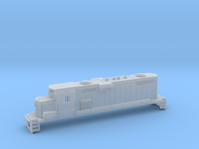 Gp11 N Scale Paducah Geep (For Printed Handrails) in Frosted Ultra Detail
