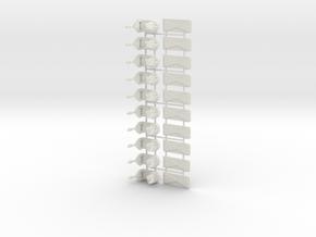 Enterprisetubs10m in White Natural Versatile Plastic