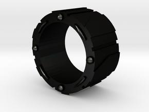Technology bracelet in Matte Black Steel