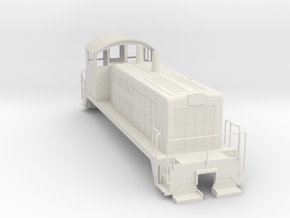 EMD SW7 0Scale WithoutMetalParts in White Strong & Flexible