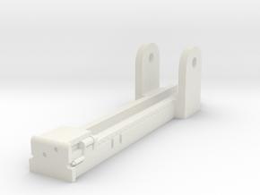 Gun Carriage for StuIG 33 1/16 in White Natural Versatile Plastic