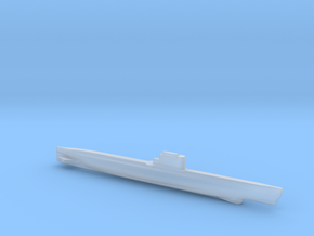 Whiskey-class submarine, Full Hull, 1/1800 in Smooth Fine Detail Plastic