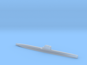 Whiskey-class submarine,  1/1800 in Smooth Fine Detail Plastic