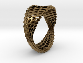 Jewelry08 in Polished Bronze