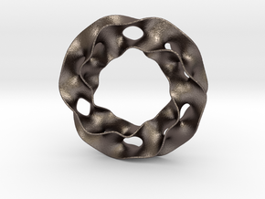 Jewelry in Polished Bronzed Silver Steel