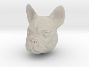 Dog in Natural Sandstone