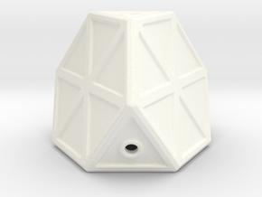 Sci-Fi Cargo Pod in White Processed Versatile Plastic