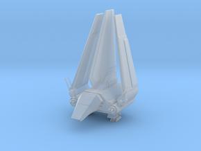 Imperial Lambda Shuttle - Wings Folded in Smooth Fine Detail Plastic