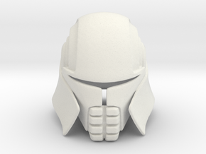 Lord Starkiller Helmet Star Wars: Force Unleashed in White Natural Versatile Plastic