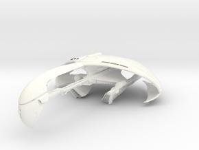 Kerchan WarBird   LARGE in White Processed Versatile Plastic
