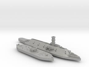 1:1200 Ironclad USS Monitor & CSS Virginia in Aluminum