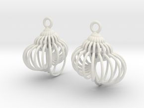 spiral shell-1 in White Natural Versatile Plastic