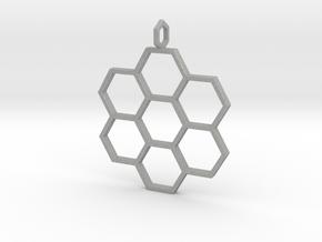 Honeycomb Pendant in Aluminum