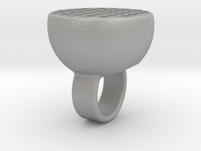 Maze-ring in Aluminum