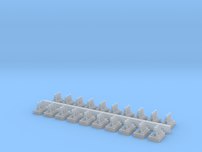 A Frames 2 x 20 - 7mm Scale in Smooth Fine Detail Plastic