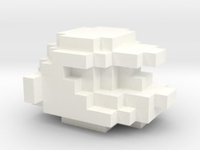 Mario Retro in White Processed Versatile Plastic