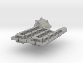 Kaiser Flail in Raw Aluminum