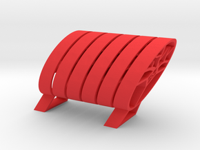 324get : modular holder for your belongings in Red Processed Versatile Plastic