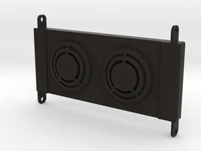 Axial RR10 Bomber Radiator in Black Natural Versatile Plastic