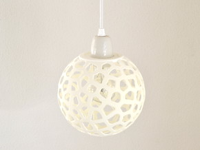 Vorolamp2-shade in White Natural Versatile Plastic