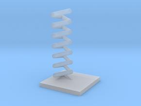 Triangular helix in Smooth Fine Detail Plastic