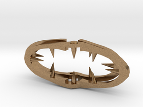 Lain's Hair Clip in Natural Brass