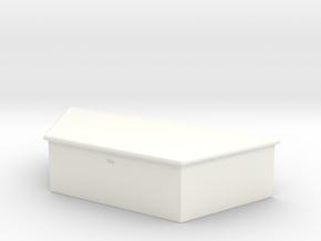 Maisto and Ertl Flatbed Trailer Tongue Box in White Processed Versatile Plastic