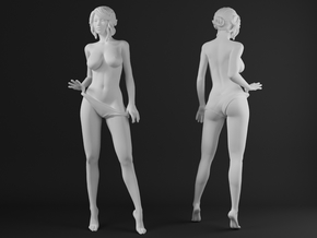Panties girl 005 scale 1/32 Passed in Frosted Ultra Detail