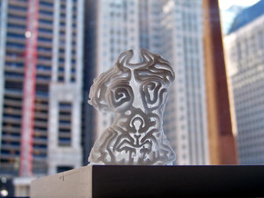 Female Deity from NY to Chicago in White Natural Versatile Plastic