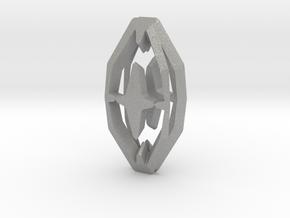 HEAD TO HEAD 44, Pendant in Aluminum