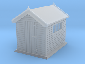 Garden shed 01. HO Scale (1:87) in Smooth Fine Detail Plastic