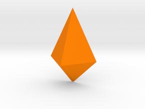 Steven Universe - Gem - Jasper (Large) in Orange Processed Versatile Plastic