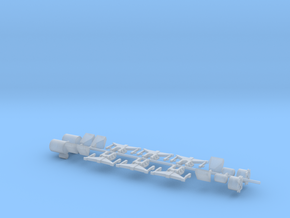 3mm Class 08/11 Parts in Smoothest Fine Detail Plastic