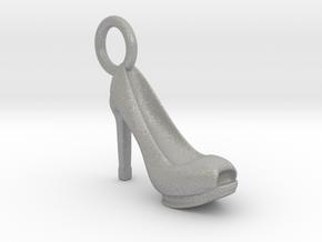 Heel Charm in Aluminum