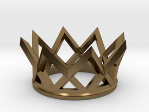 Watch The Crown in Polished Bronze