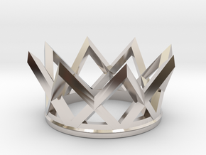 Watch The Crown in Rhodium Plated Brass