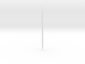WAC Corporal Conduit For BT60 in White Natural Versatile Plastic