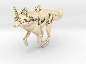 Fox in 14k Gold Plated