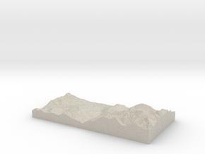 Model of Bionnay in Sandstone