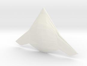 1/285 (6mm) FXX- Fighter Concept  in White Processed Versatile Plastic